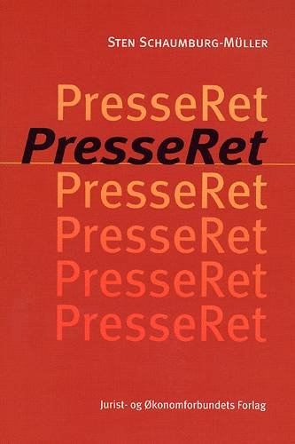 Image of   Presseret - Schaumburg-müller S - Bog