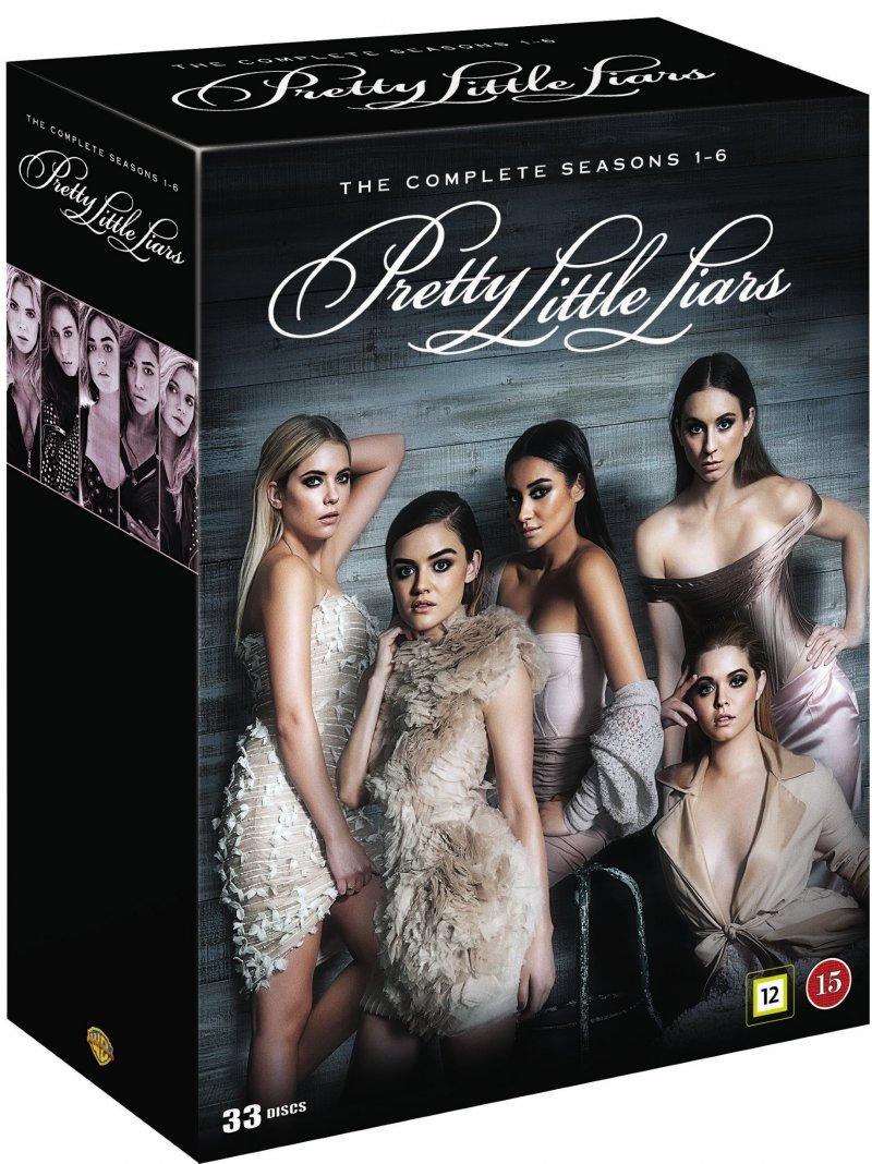Pretty Little Liars - Sæson 1-6 - DVD - Tv-serie