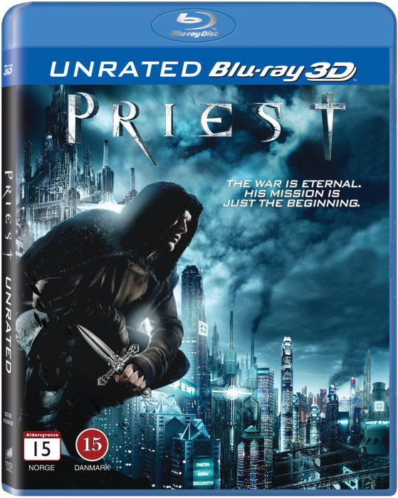 Image of   Priest - 3D Blu-Ray