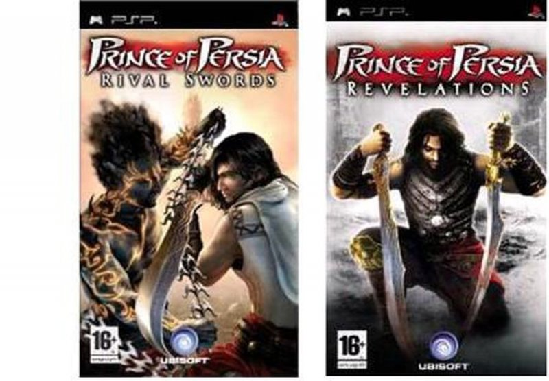Prince Of Persia Rival Swords & Revelation Double Pack/ Psp - Psp