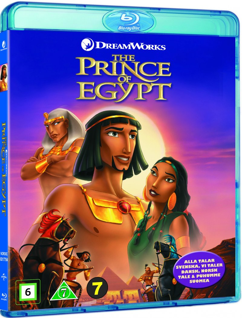 Image of   Prinsen Af Egypten / The Prince Of Egypt - Blu-Ray