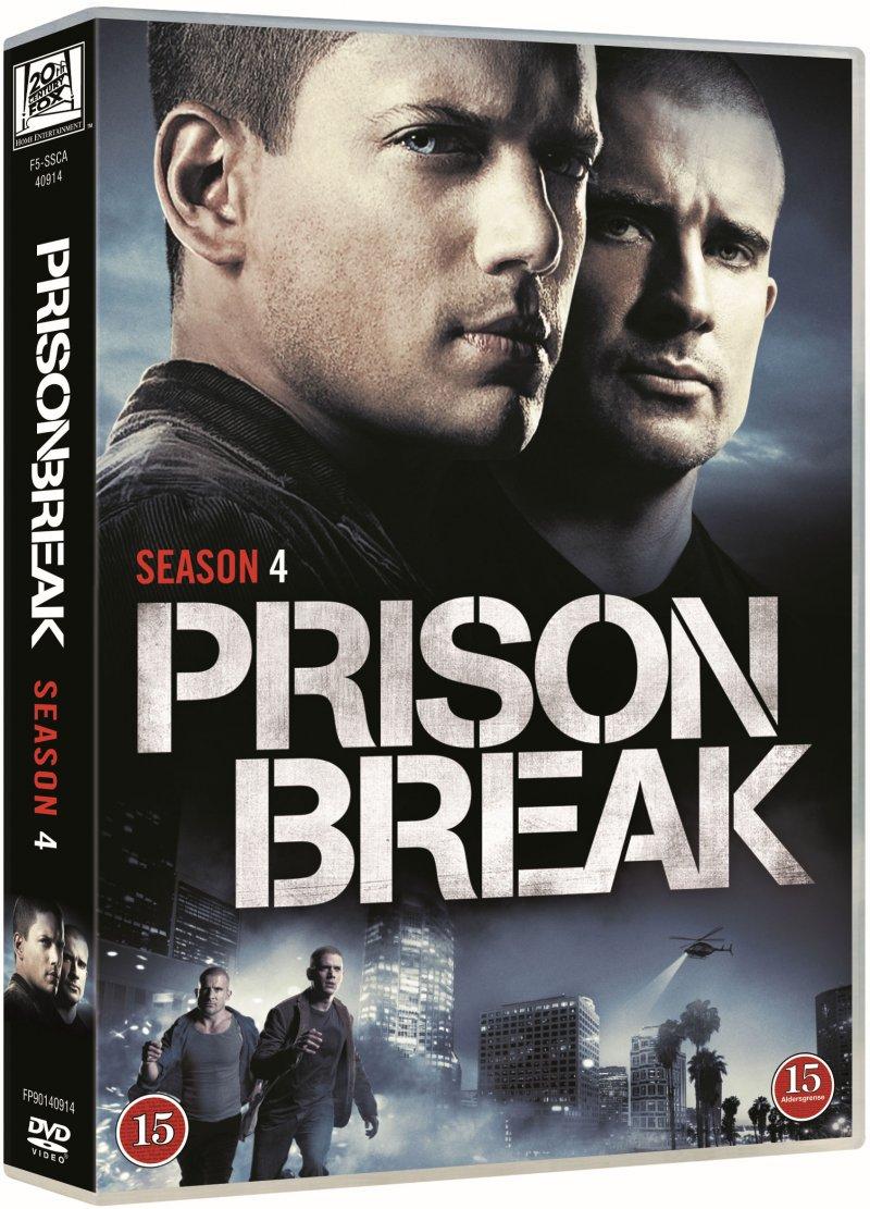Billede af Prison Break - Sæson 4 - DVD - Tv-serie