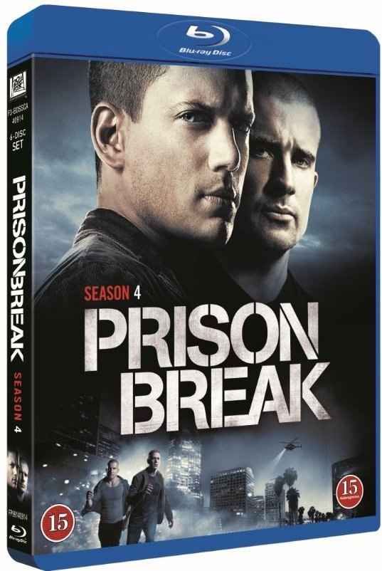 Image of   Prison Break - Sæson 4 - Blu-Ray - Tv-serie