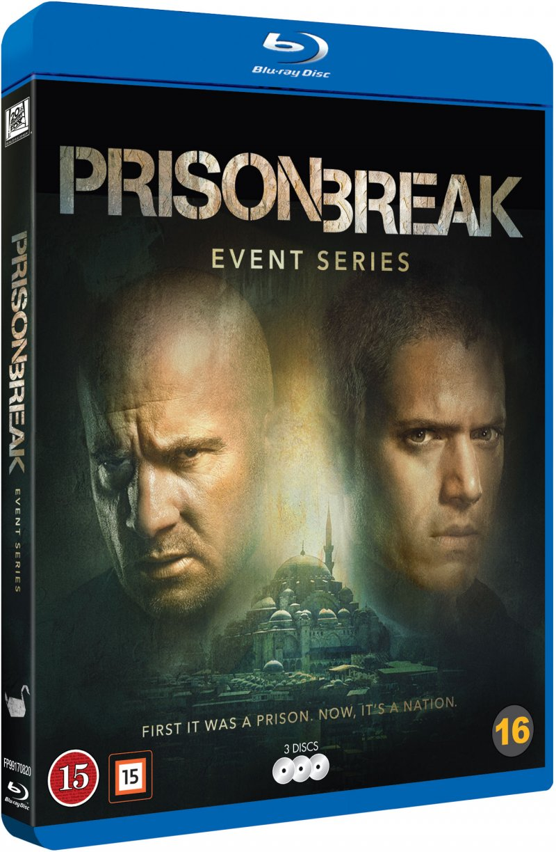 Image of   Prison Break - Sæson 5 - Event Series - Blu-Ray - Tv-serie