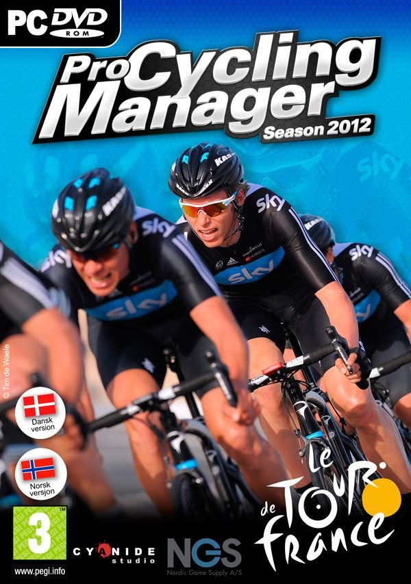 Image of   Pro Cycling Manager 2012 (dk/no) - PC
