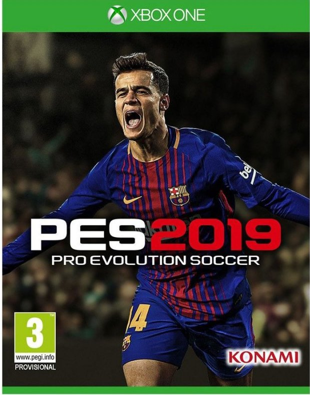 Pes 2019 / Pro Evolution Soccer 2019 - Xbox One