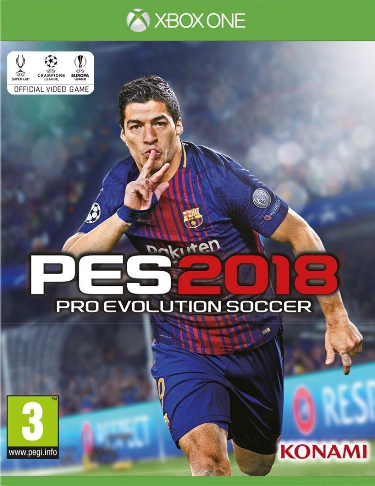Pes 2018 / Pro Evolution Soccer 2018 - Xbox One