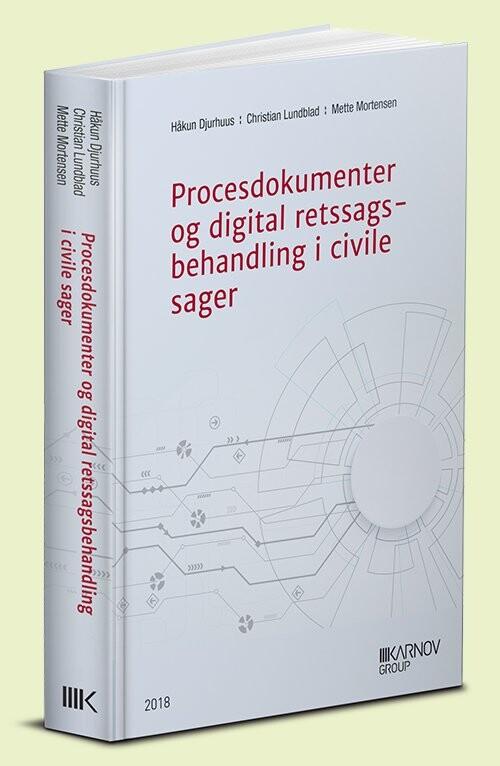 Image of   Procesdokumenter Ved Digital Retssagsbehandling - Mette Mortensen - Bog