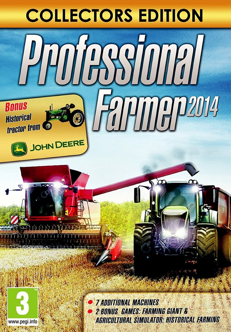Image of   Professional Farmer 2014 - Collectors Edition - PC