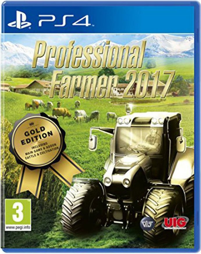 Professional Farmer 17 / 2017 - Gold Edition - PS4