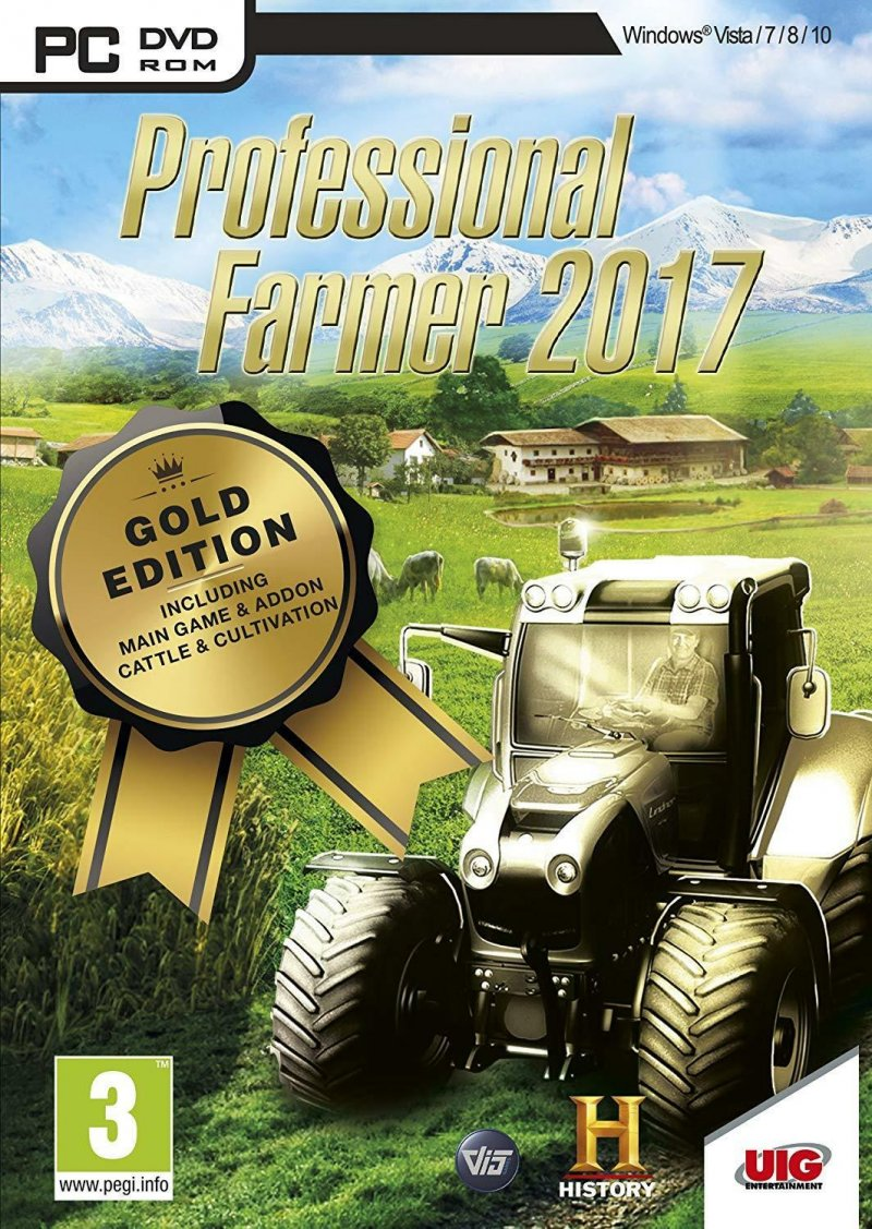 Image of   Professional Farmer 2017 (gold Edition) - PC