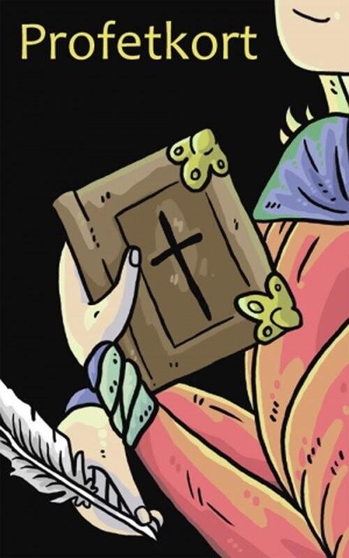 kortspil, konfirmandspil, profeter