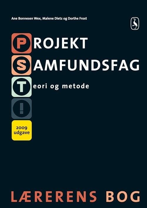 Image of   Projekt Samfundsfag - Teori Og Metode - Malene Dietz - Bog