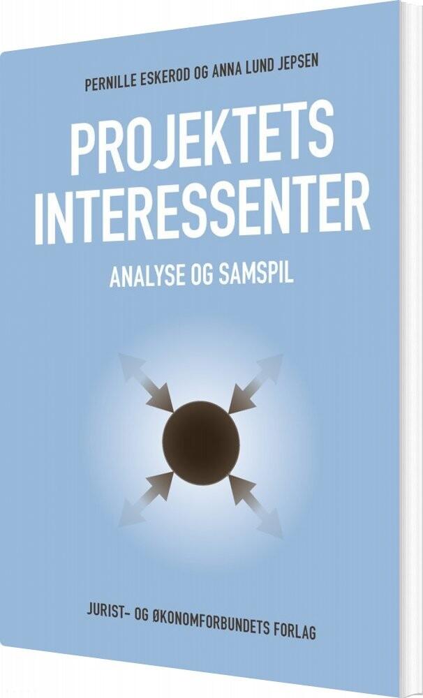 Image of   Projektets Interessenter - Anna Lund Jepsen - Bog