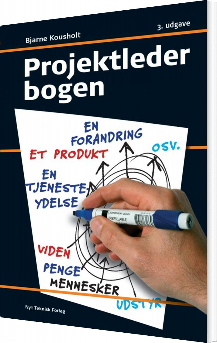 Image of   Projektlederbogen - Bjarne Kousholt - Bog