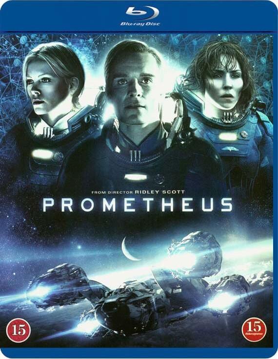 Prometheus Blu-Ray Film → Køb billigt her