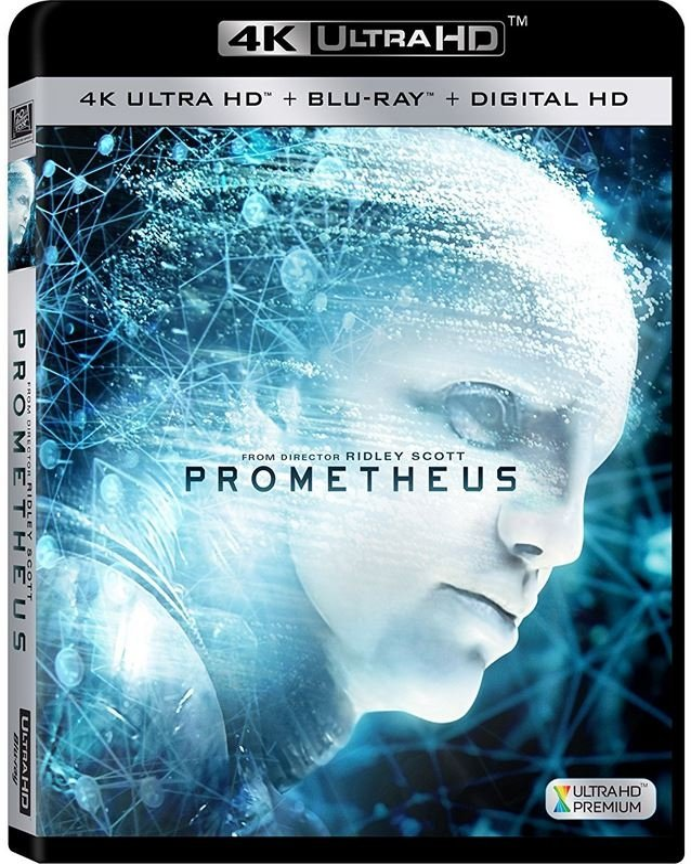 Image of   Prometheus - 4K Blu-Ray