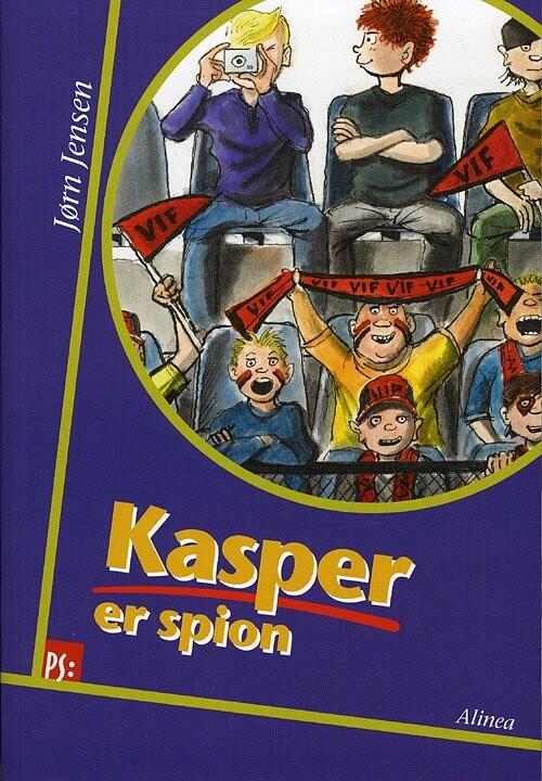 Image of   Ps, Kasper Er Spion - Jørn Jensen - Bog