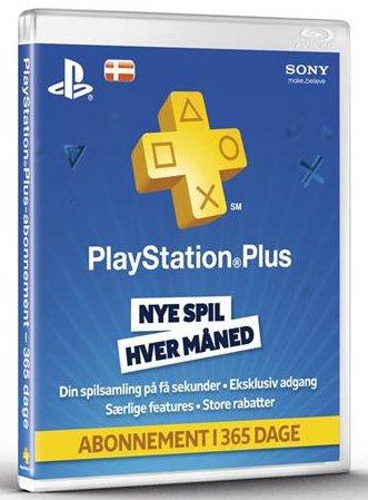 Playstation Plus - 1 år - Playstation 3 / Ps4 / Ps Vita