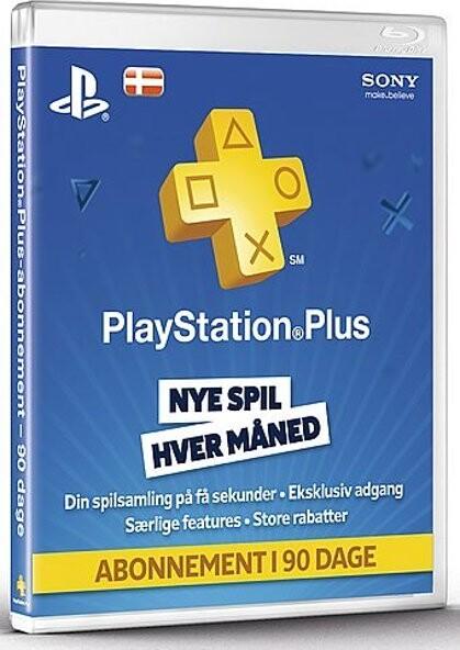 Image of   Playstation Plus - 3 Måneder - Playstation 3 / Ps4 / Ps Vita