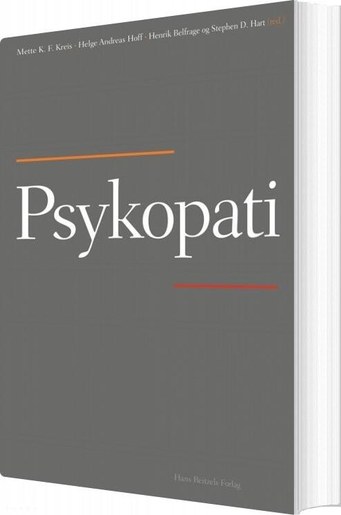 Image of   Psykopati - Erik Simonsen - Bog