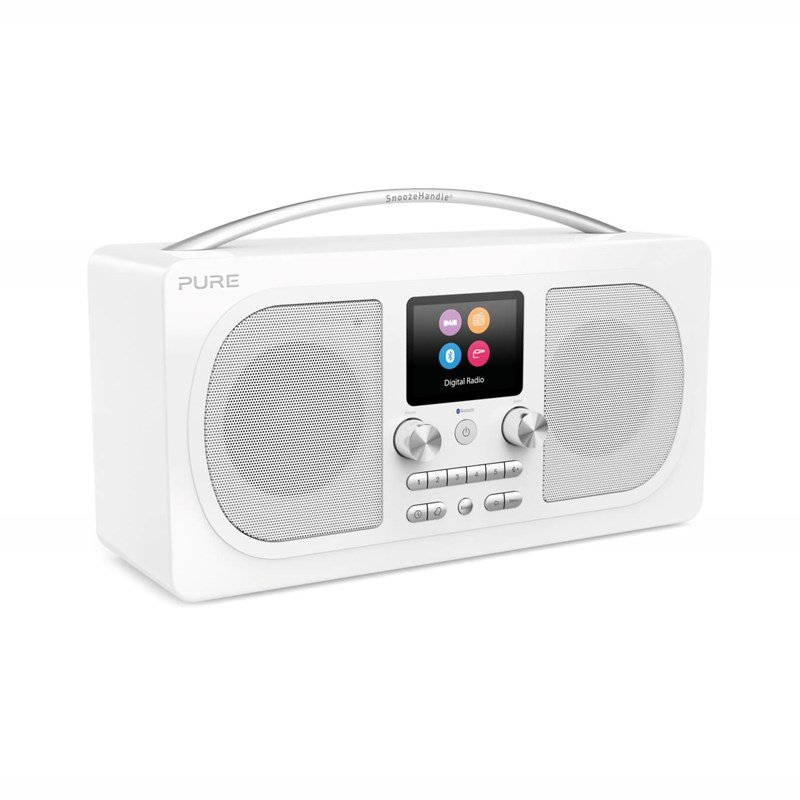 Image of   Pure - Evoke H6 - Fm Dab+ Radio Med Bluetooth - Hvid