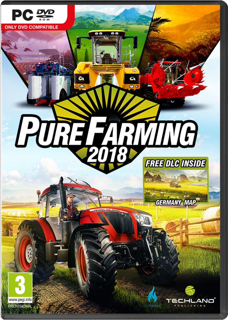 Image of   Pure Farming 2018 - PC