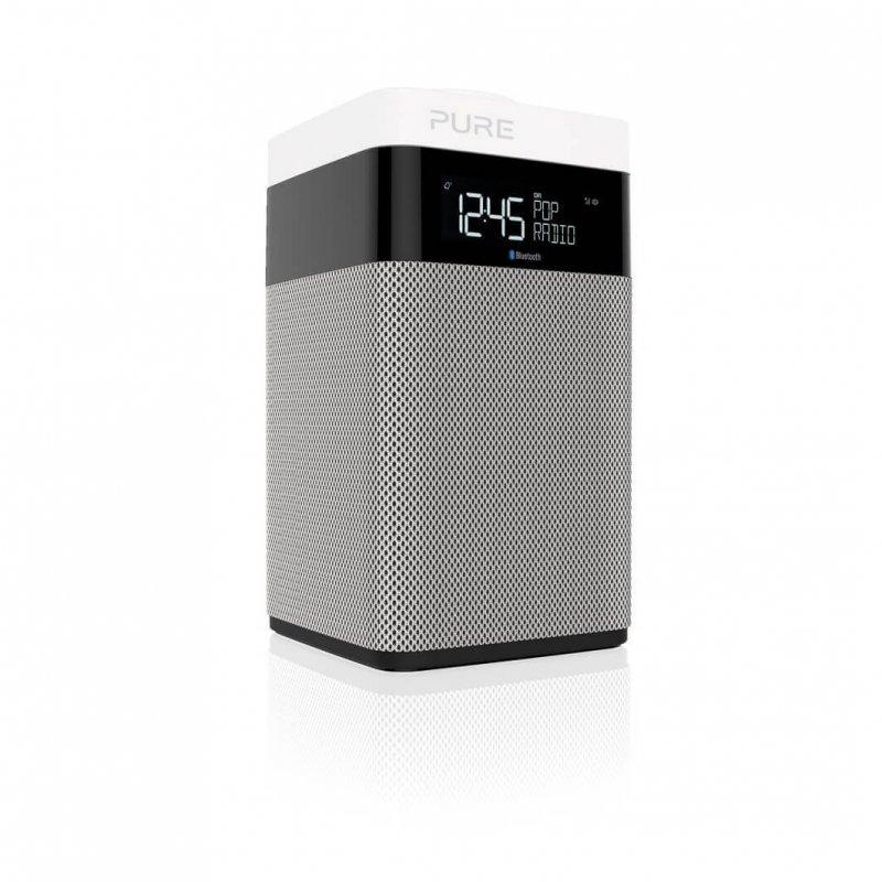 Image of   Pure - Fm Dab Dab+ Pop Midi Radio Med Bluetooth - Grå