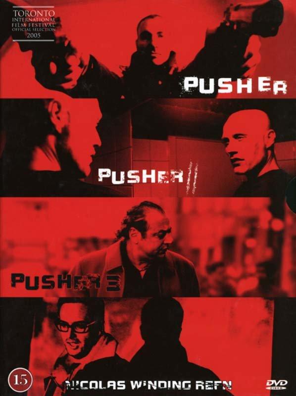 Image of   Pusher 1 // Pusher 2 // Pusher 3 - DVD - Film