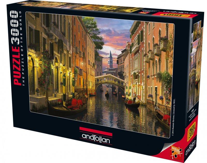 Puslespil Med 3000 Brikker Venedig Ved Skumringen Kob Billigt Her Gucca Dk