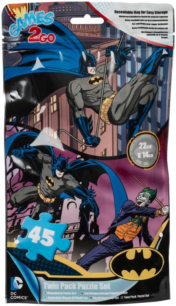 Image of   Batman Puslespil - 45 Brikker