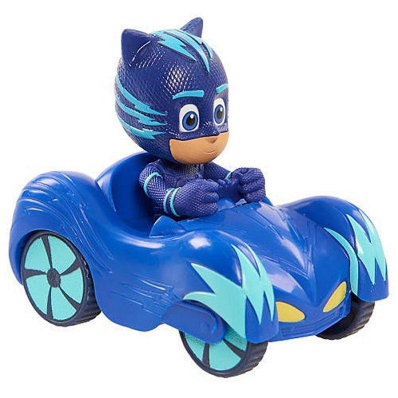 Image of   Pyjamasheltene Legetøj - Mini Bil Med Catboy