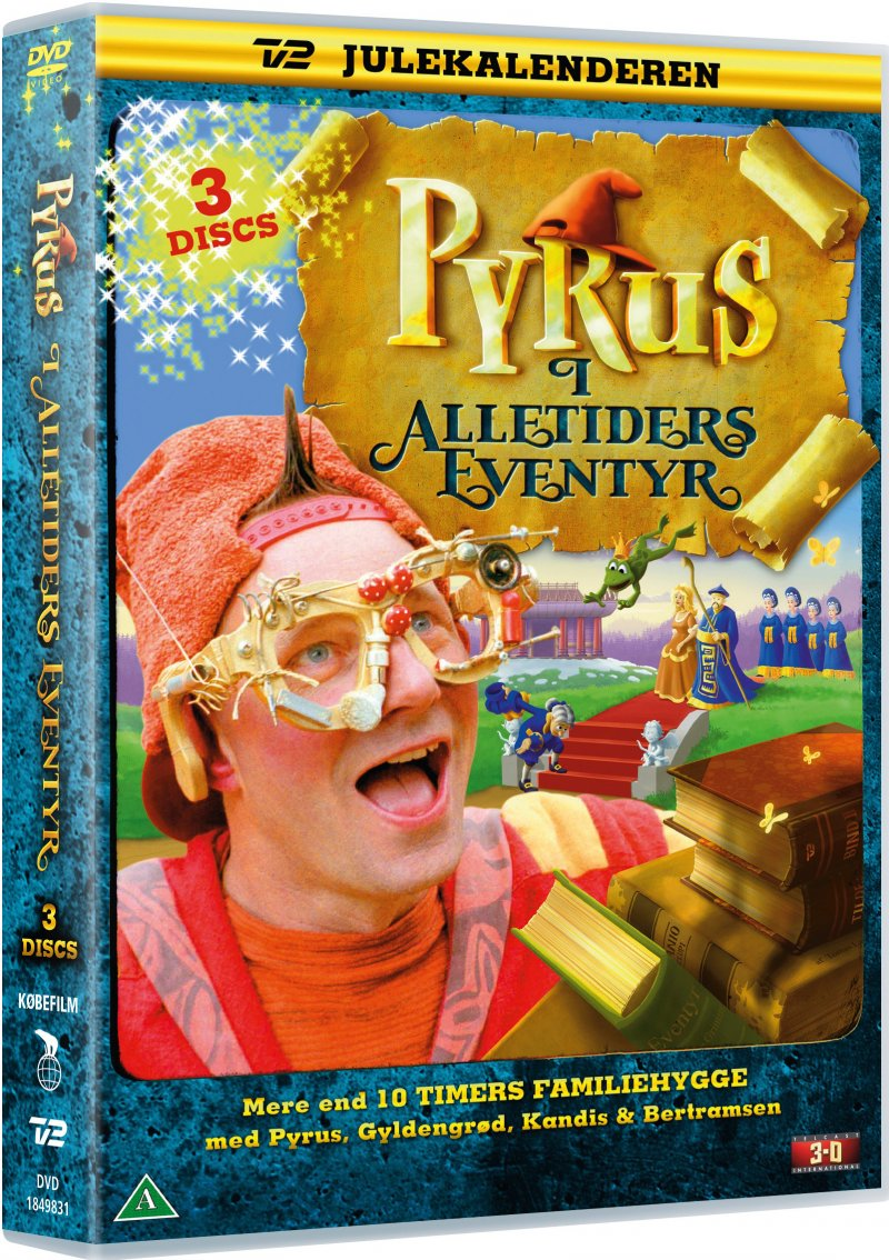 Pyrus Alletiders Eventyr - Tv2 Julekalender - DVD - Tv-serie