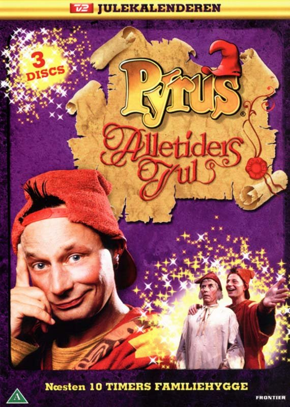 Pyrus Alletiders Jul - Tv2 Julekalender - DVD - Tv-serie