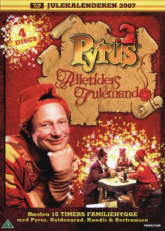 Pyrus Alletiders Julemand - Tv2 Julekalender - DVD - Tv-serie
