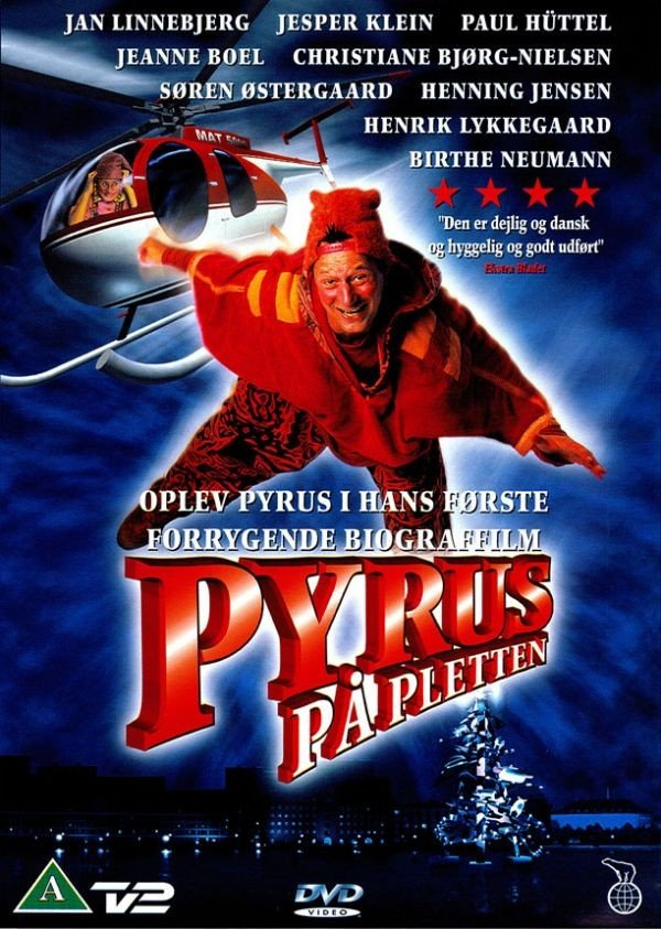 Image of   Pyrus På Pletten - DVD - Film