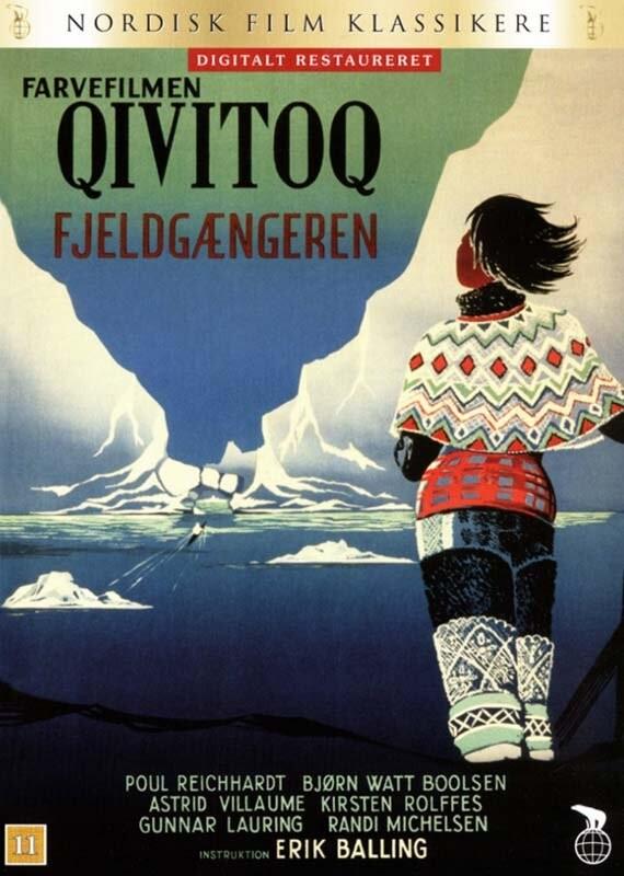 Image of   Qivitoq: Fjeldgængeren - DVD - Film
