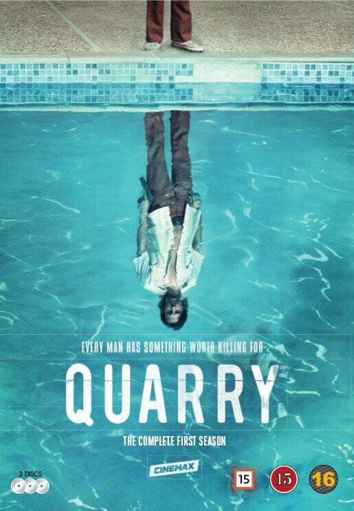 Image of   Quarry - Sæson 1 - Hbo - DVD - Tv-serie