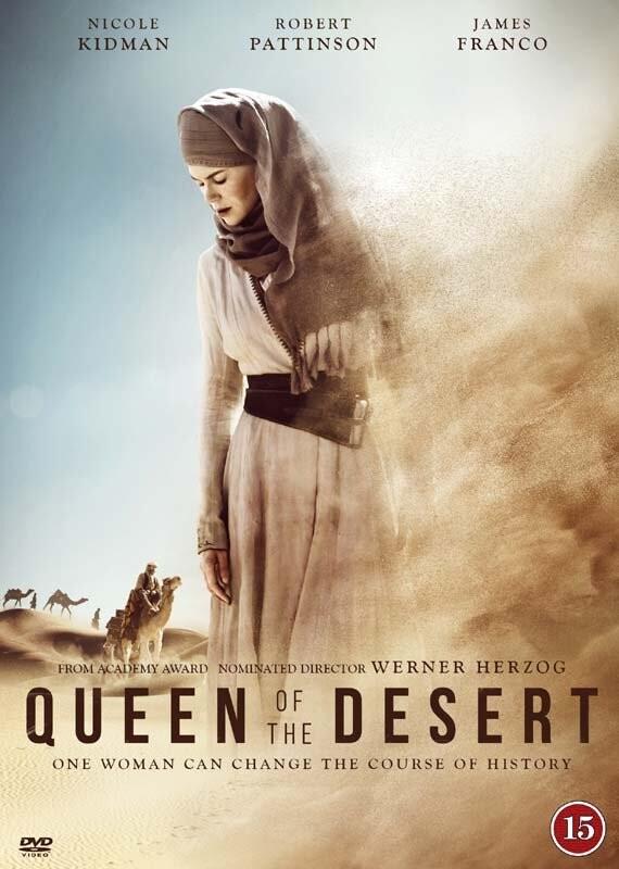 Image of   Queen Of The Desert - DVD - Film