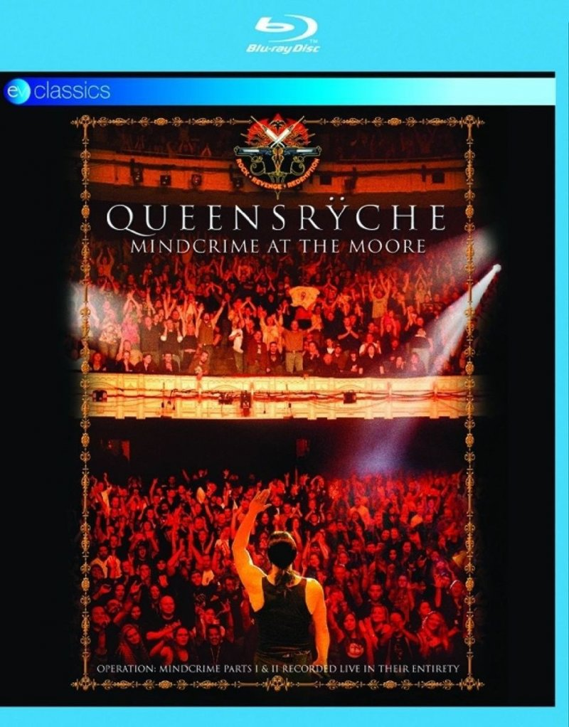 Image of   Queensryche: Mindcrime At The Moore - Blu-Ray