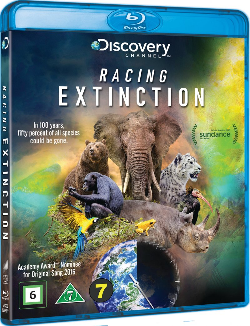 Image of   Discovery Channel - Racing Extinction - Blu-Ray