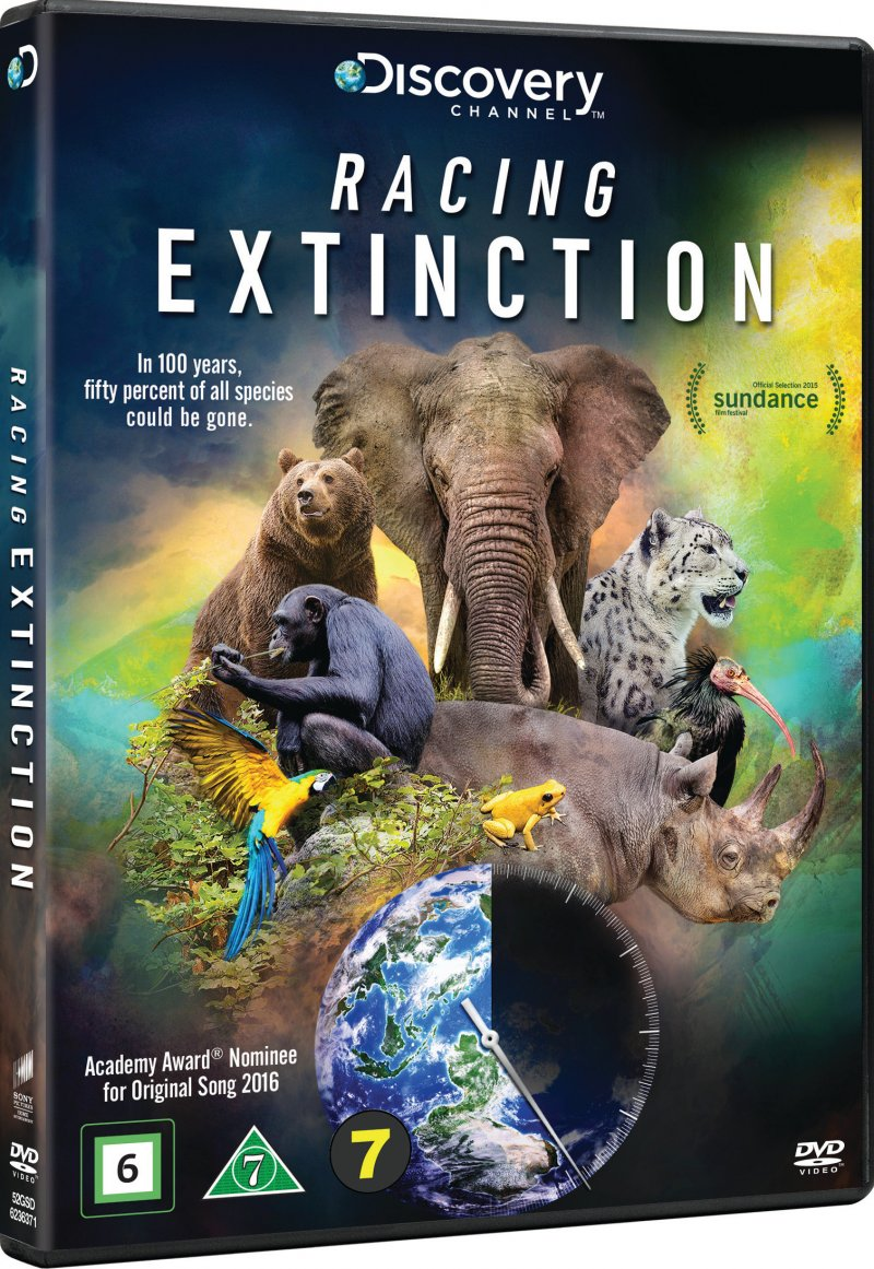 Image of   Discovery Channel - Racing Extinction - DVD - Film