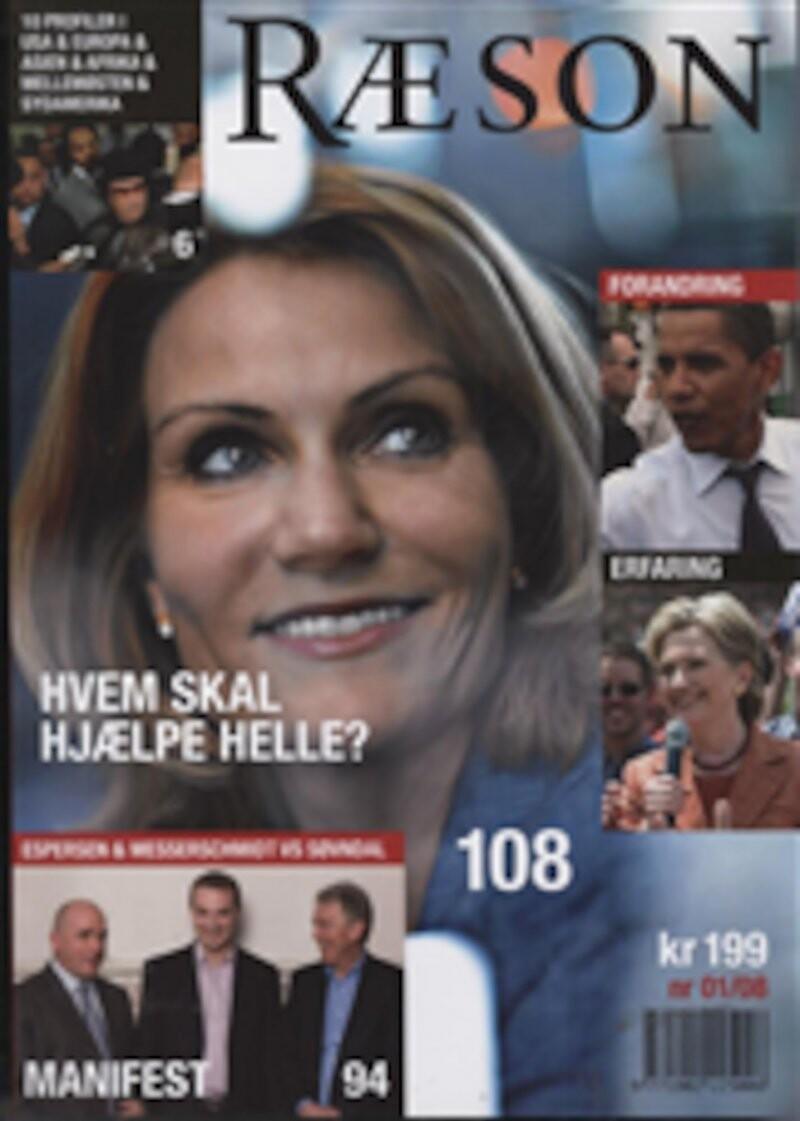 Image of   Ræson3 (første Halvår 2008) - Eske Vinther-jensen - Bog