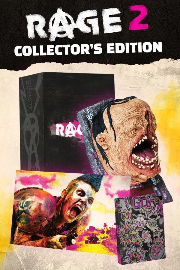 Image of   Rage 2 (collectors Edition) - PC