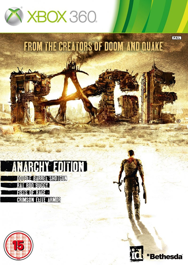 Image of   Rage Anarchy Edition - Dk - Xbox 360
