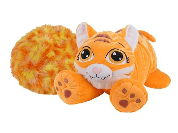 Rainbow Fluffies - Lille - Tiger Bamse - Orange