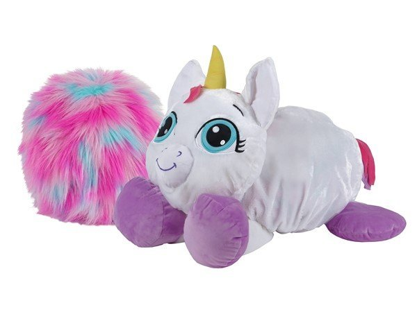 Rainbow Fluffies - Stor Bamse - Enhjørning