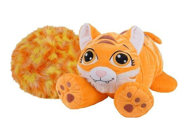 Rainbow Fluffies - Stor Bamse - Orange Tiger