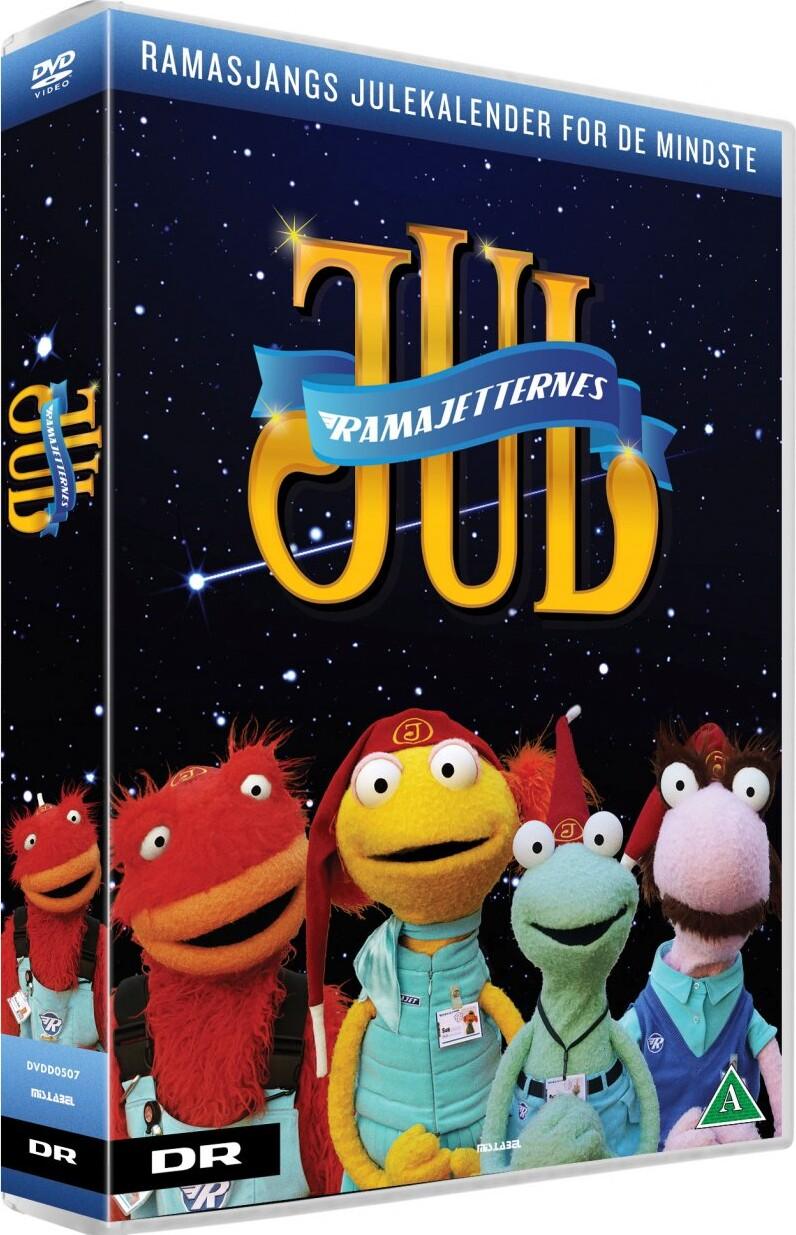 Ramajetternes Jul - Ramasjang Julekalender 2017 - DVD - Tv-serie
