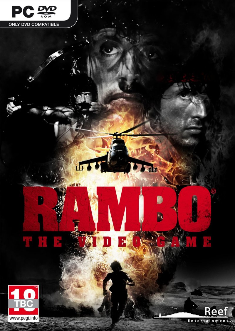 Image of   Rambo The Video Game - PC